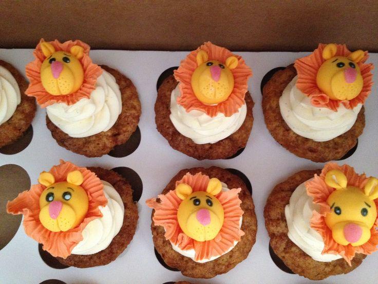 Lion cupcakes Leijona cupcakes Leijon cupcakes