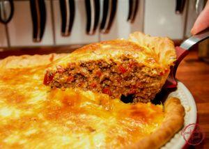 comfortable food - the best cheeseburger pie