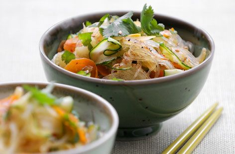 A simple Rice noodles with vegetables recipe for you to cook a great meal for family or friends. Buy the ingredients for our Rice noodles with vegetables recipe from Tesco today.