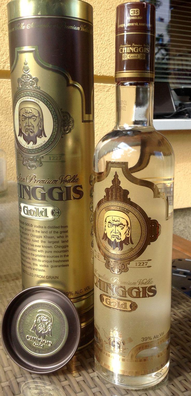 """Wódka""""Chingis"""" z Mongolii. Prawdopodobie najlepsza wódka na świecie!"""