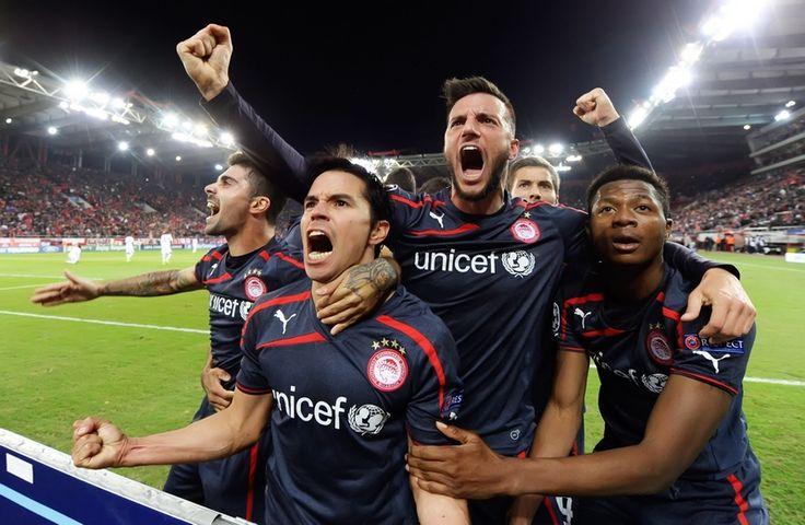 Olympiakos Anderlecht 3-1  #Saviola #UEFA_Champions_League