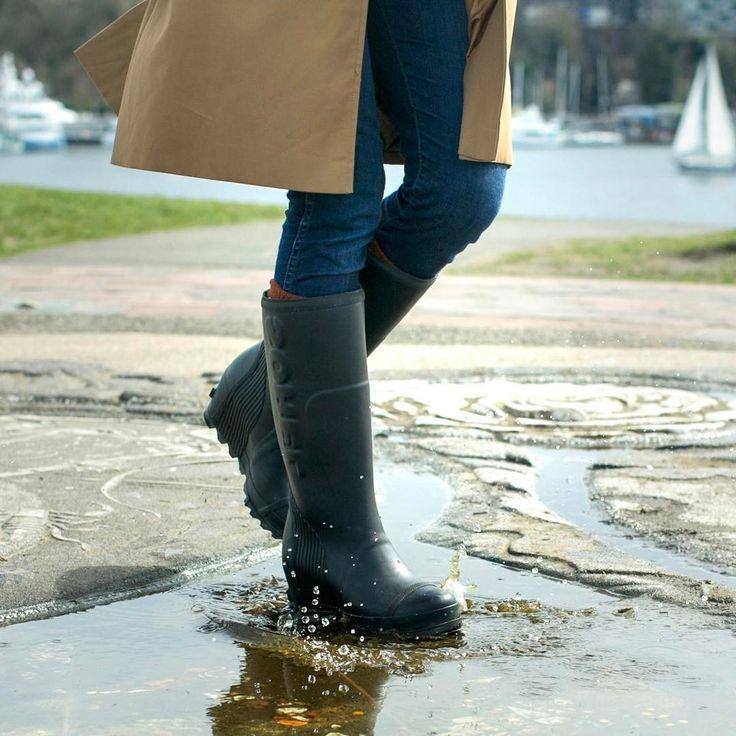Sorel Joan Rain Wedge Tall Boot (Women's) KxHNHF1Ta