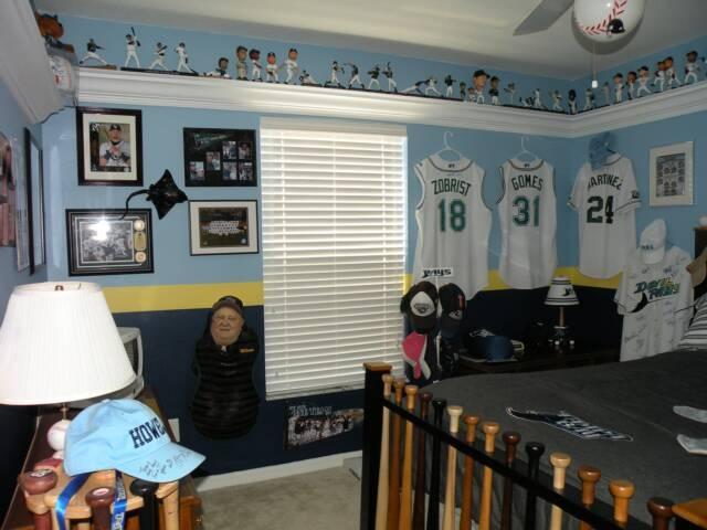 Rays Baseball Guest Room