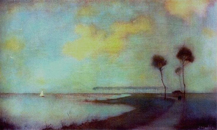 'Waterlandscape', 1912 - by Jan Mankes