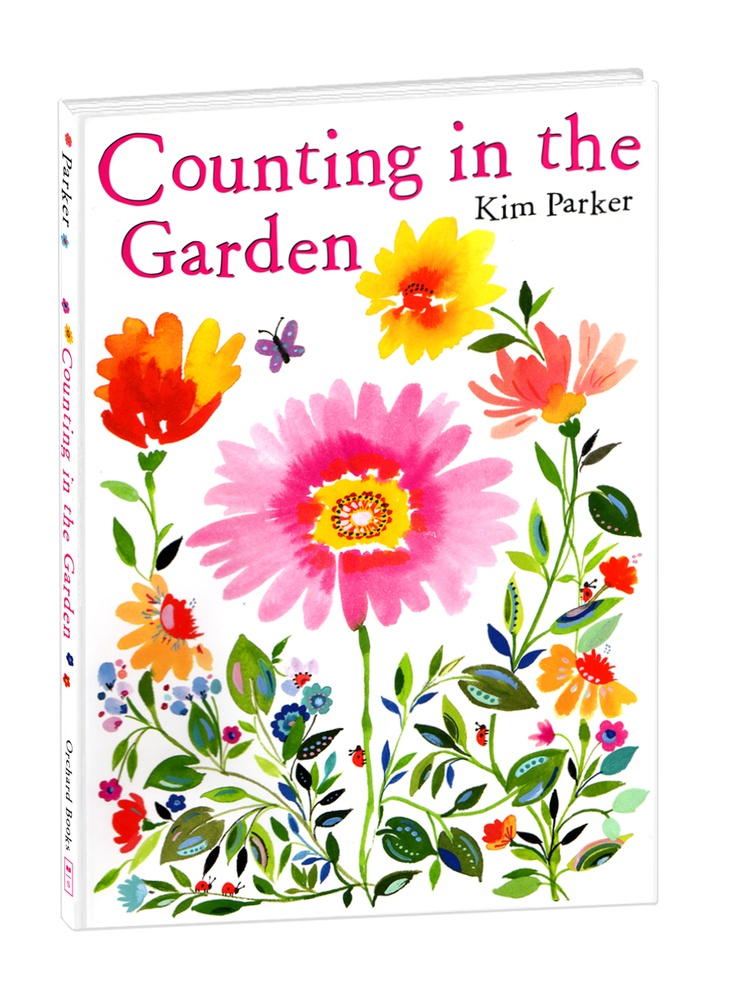 "Counting in the Garden  Hardcover Book    11.25x7.75""  Item #69452  $17.00"