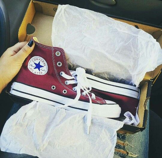 Burgundy wine maroon converse shoes