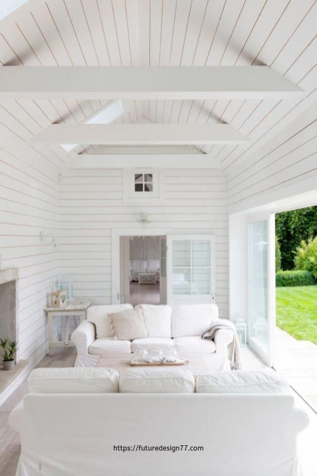 Modern Interior Home Design Equal Clean Lines Futuredesign77 Com Vaulted Ceiling Living Room Cathedral Ceiling Living Room Vaulted Living Rooms