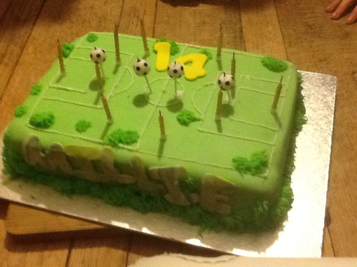 Football cake, for surprise party!