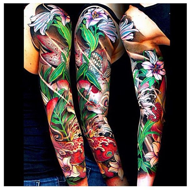 665 Best Images About Tattoo Sleeves On Pinterest Sleeve