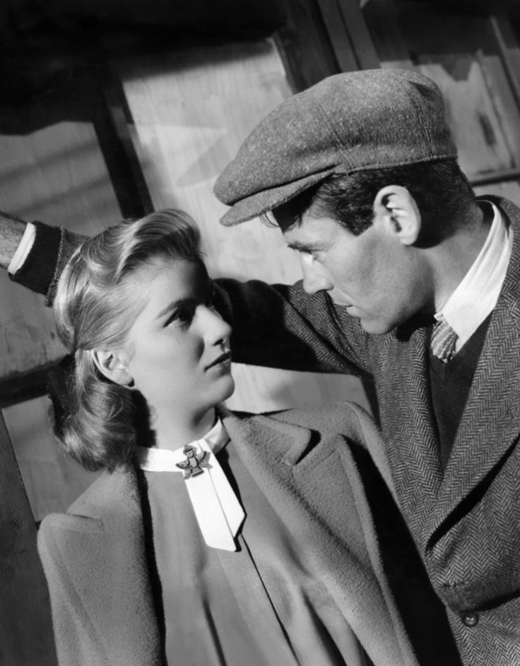 "Barbara Bel Geddes and Henry Fonda in ""The Long Night"" (1947)"