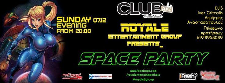 Royale Entertainment Group: Space Party @ CLUBaki – 7/12