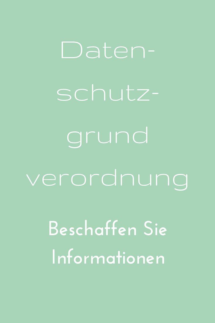 Wo finden Sie Informationen, um sich auf die Datenschutzgrundverordnung vorzubereiten? Ich habe einmal ein paar Quellen aufgeschrieben  #büro #sekretariat #recht #IT