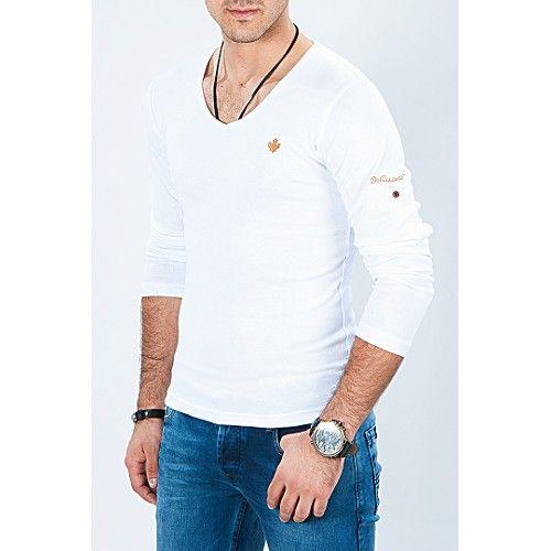 V yaka katlamalı kollu sweet beyaz erkek sweatshirt v yaka kazak ürünü, özellikleri ve en uygun fiyatların11.com'da! V yaka katlamalı kollu sweet beyaz erkek sweatshirt v yaka kazak, sweatshirt kategorisinde! 477