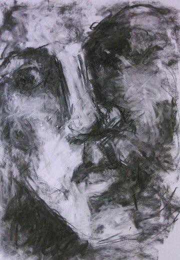 Portrait,charcoal 50x70cm