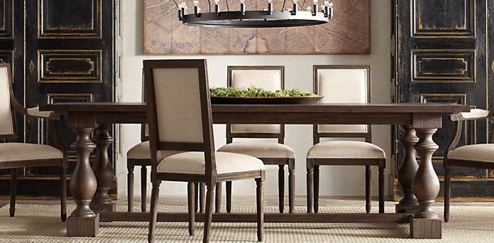 17th C. Monastery Dining | Restoration Hardware ~ saw this dining ...