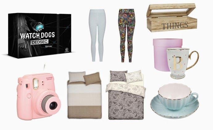 The Diary Of A Nerdy Girl: April's Wishlist : Primark, Gifts & Pieces and Amazon