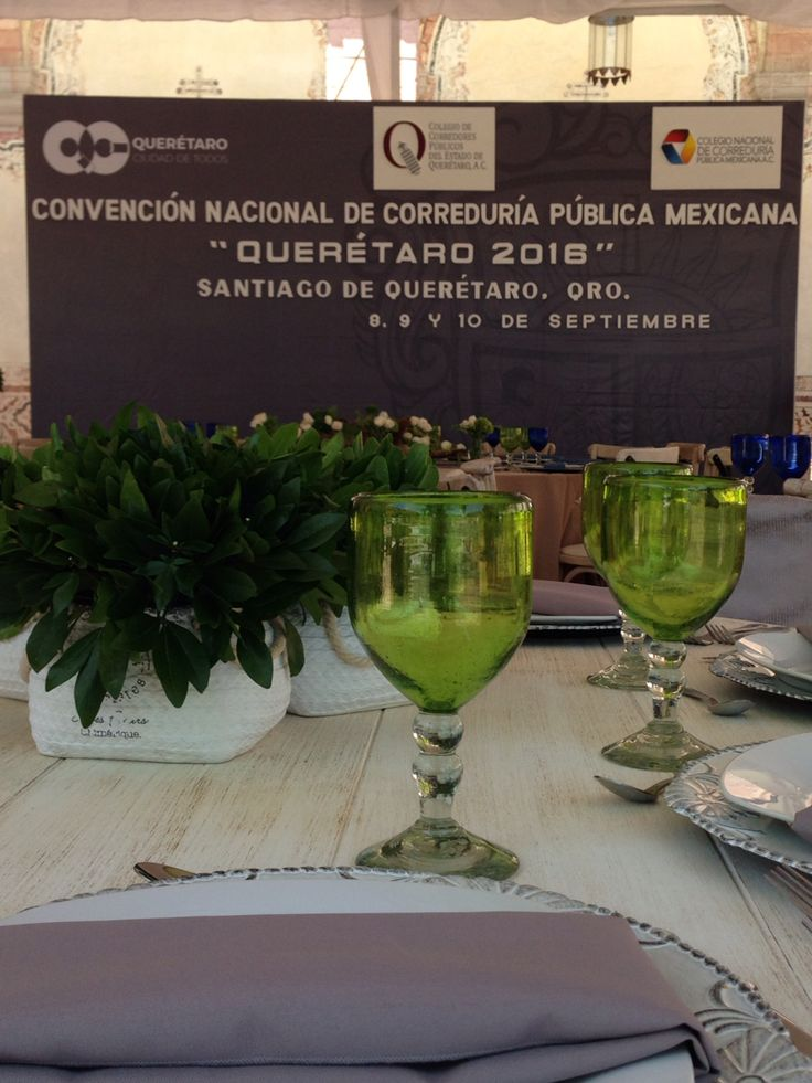 #Evento, Convención Nacional de Correduría pública 2016, CEART, Querétaro.