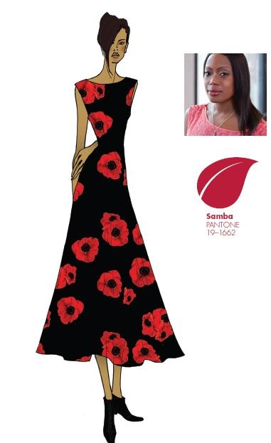 #FCRF13 Designer Inspiration: Tracy Reese http://pantone.com/Fall2013