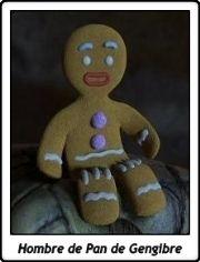 El Hombre de Pan de Gengibre / Jenji / Gingerbread Man / Gingy / Shrek / Dreamworks