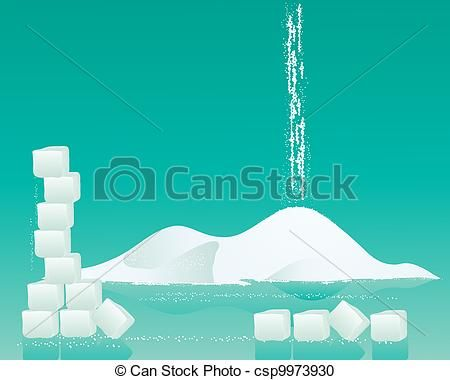 Vector - sugar background - stock illustration, royalty free ...