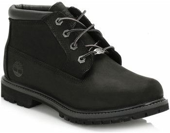 Timberland Womens Black Nellie Double Waterproof Chukka Boots Black