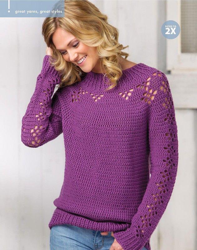 835 best Вязание крючком. images on Pinterest   All alone, Crochet ...