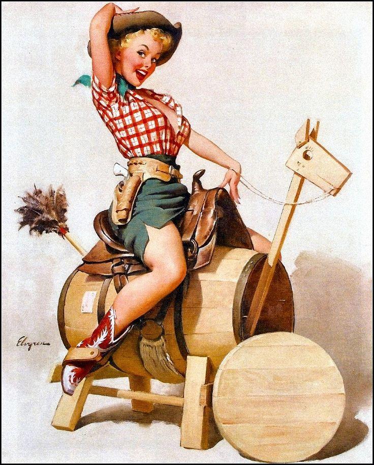 Ретро американские открытки, женский день