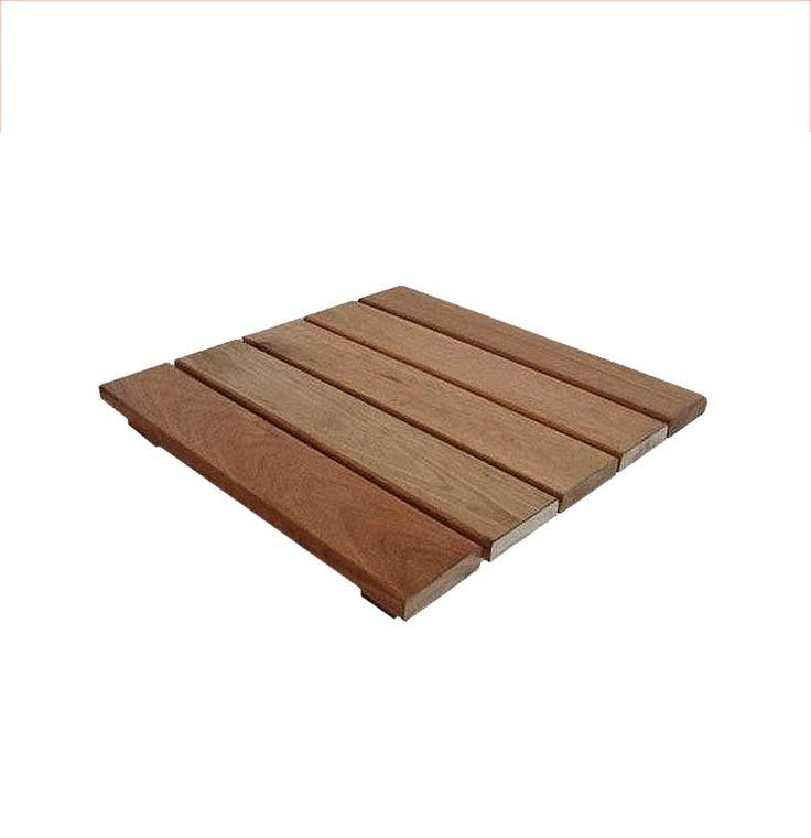 deck de madera baldoza de eucaliptus grandis primera calidad $ 105 por baldoza