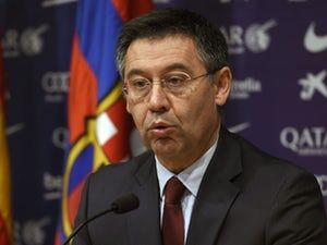 Josep Maria Bartomeu: 'Empty ground an act of defiance' #Barcelona #Football #308615