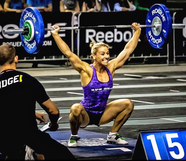 The most beautiful women of the CrossFit Games.