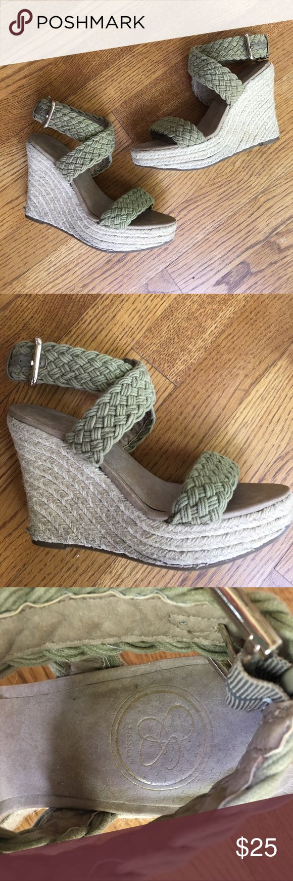 Jessica Simpson wedges Size 7 Only worn a few times. Jessica Simpson Shoes Wedges