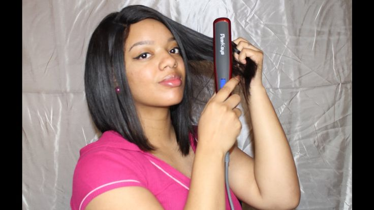 Does It Really Work? | Hair Straightner Brush On NATURAL HAIR