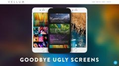 iPhoneで使っている壁紙に飽きてしまった時はiPhoneの素敵な壁紙がダウンロードできるアプリVellumが使える ジャンルごとに壁紙を探すことができて直接ダウンロードもできちゃうんです 実際にロック画面およびホーム画面に設定したときに絵が確認できてぼかしを入れることもできるから便利 これはイチオシのアプリですね(_)v