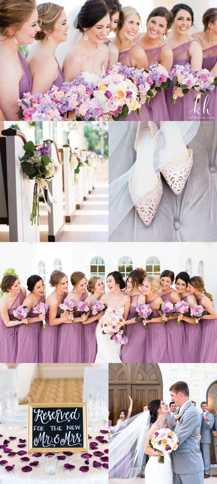 Lavender wedding at Ashton Gardens Houston West by Kati Hewitt Photography