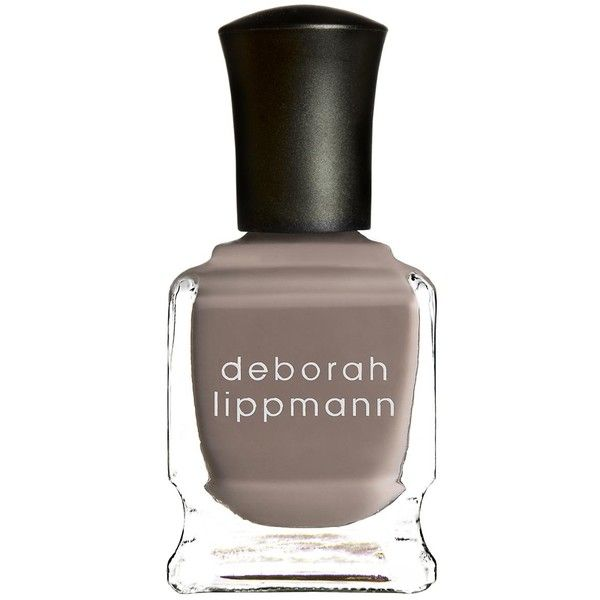 Deborah Lippmann Nail Lacquer - She Wolf  - Colour Cream (160 DKK) ❤ liked on Polyvore featuring beauty products, nail care, nail polish, beauty, makeup, nails, deborah lippmann nail polish, deborah lippmann nail lacquer, deborah lippmann and deborah lippmann nail color