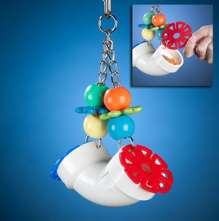 Super Bird Creations PVC Forager Bird Toy