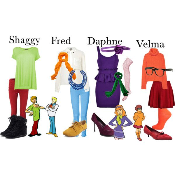 """""""Scooby-Doo-Crew"""" by laineyrps on Polyvore"""