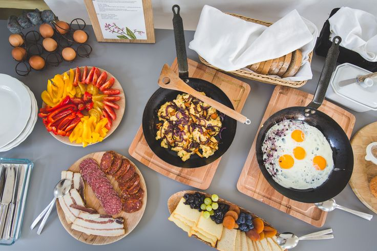 Delicious farm to table breakfast