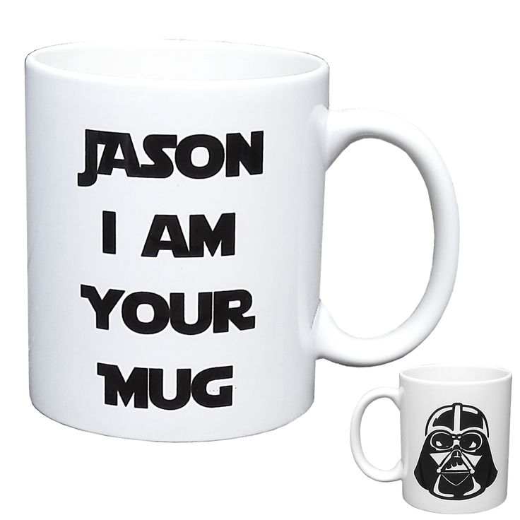 Personalised Star Wars Mug - Darth Vader 'I am Your Mug'