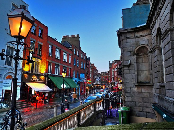 The streets of Dublin....Travel Ireland - It's More Than Pubs and Leprechauns   #Ireland #Dublin