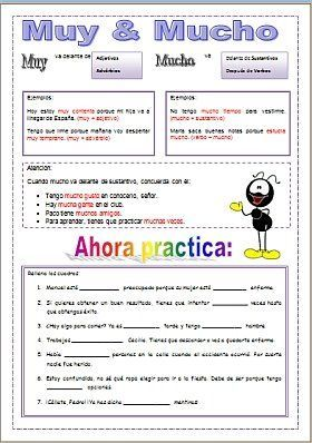 muy mucho español - Pesquisa do Google. This would be fantastic to leave for the kids with a sub.