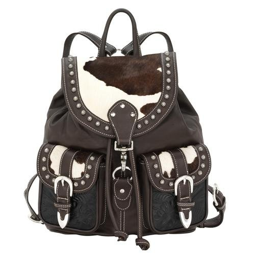 American West Large Drawstring Backpack-As Shown