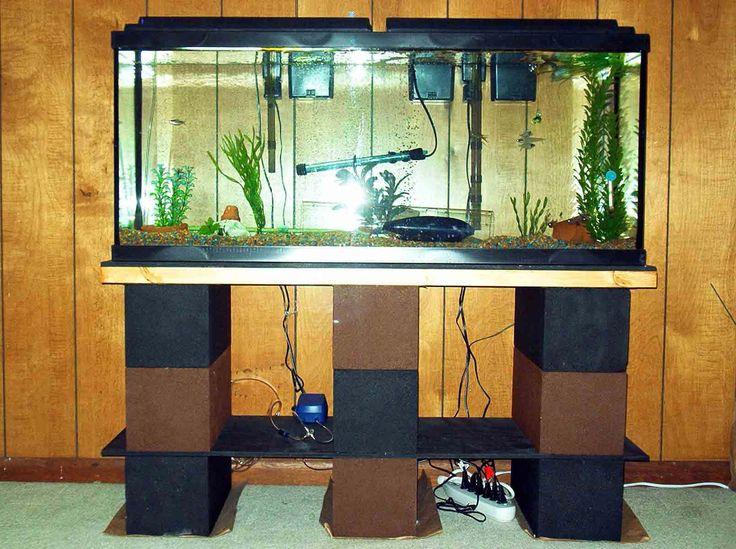 Aquarium Decoration Ideas ~ http://www.lookmyhomes.com/creative-aquarium-decoration-ideas/