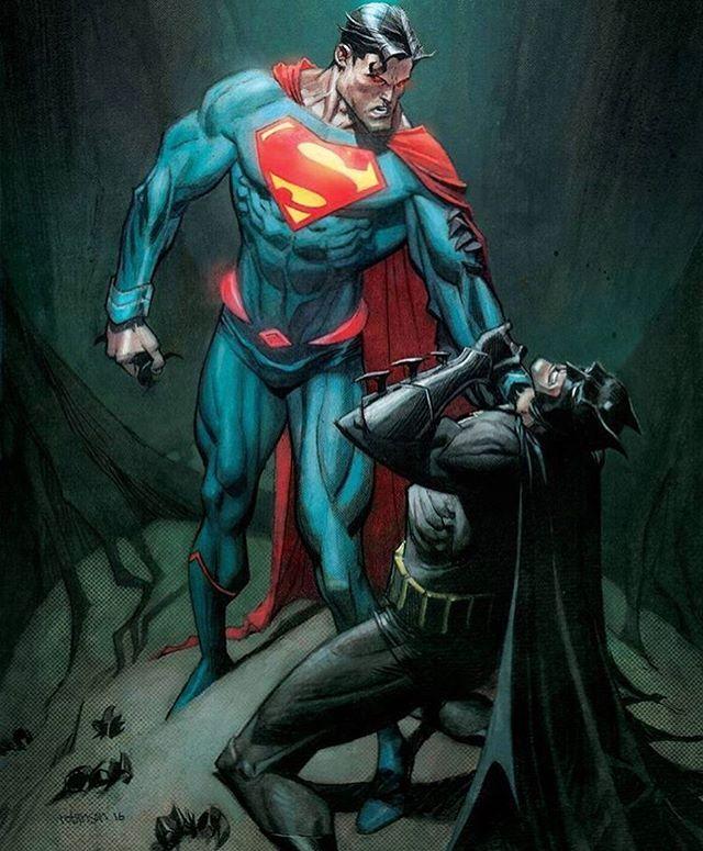#Superman #Batman #DC #DCComics by @spacejunkees Andrew Robinson