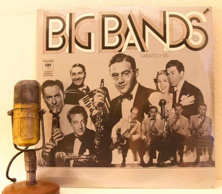 Big Band Music Vinyl Record Album Lp 1930 S Big Band Swing