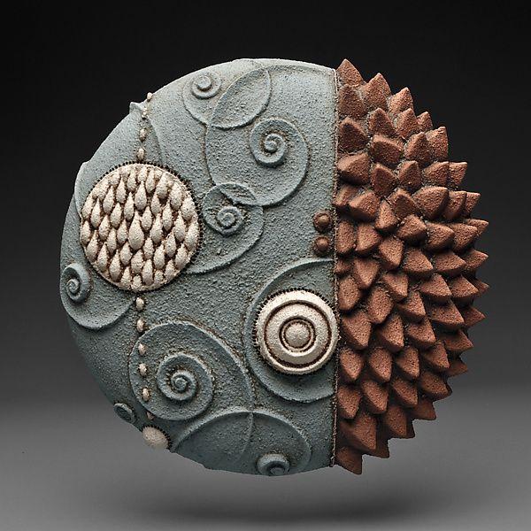 Stream Slip By Christopher Gryder Ceramic Wall Art