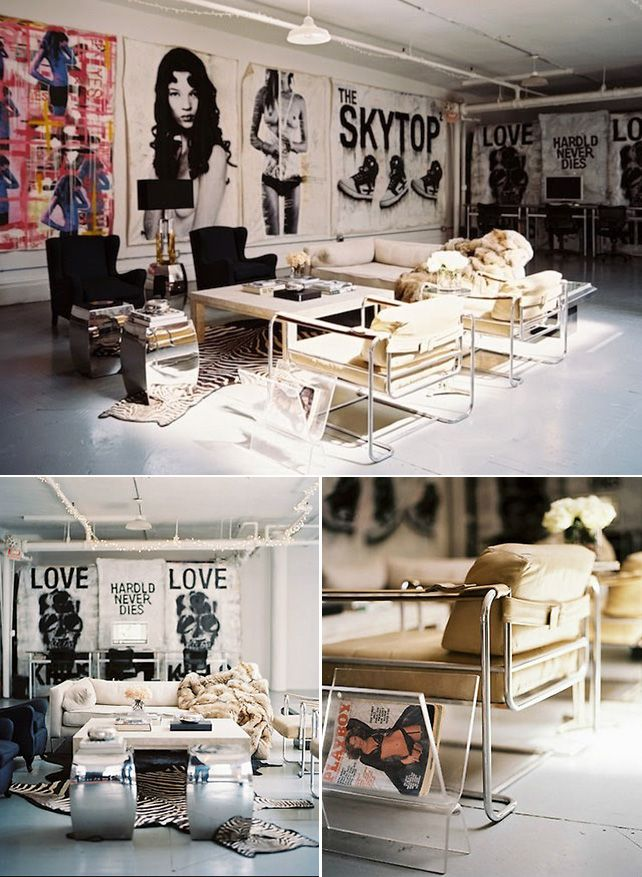 Inspired by Punk: 3 Rooms with Edge - Interior Collective