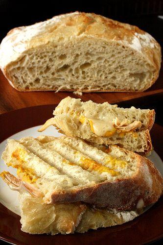 Anna's No-Knead Artisan Bread