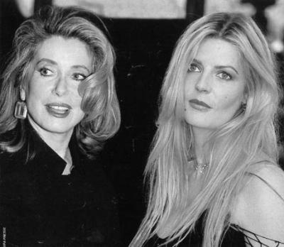 Catherine Deneuve and Chiara Mastroianni