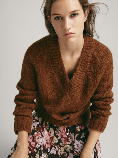 Womens Sweaters Cardigans Massimo Dutti Fall Winter 2018